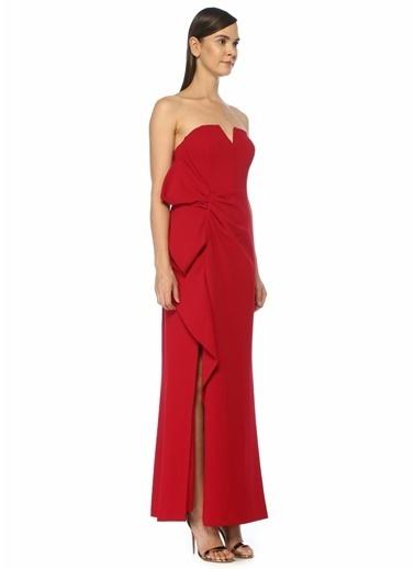 Aidan Mattox Elbise Kırmızı